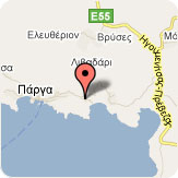 Bella Vista, Parga, Map